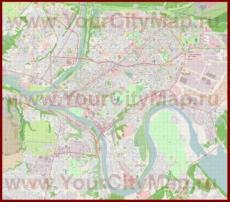 Подробная карта города Каунас