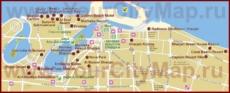 Карта отелей Шарджи