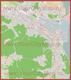 Подробная карта города Гдыня
