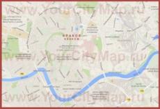 Карта Кракова на русском языке
