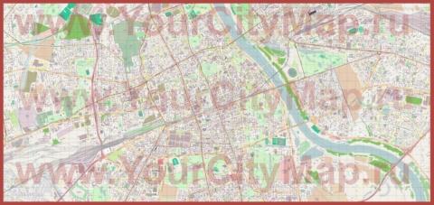 Страны-соседи Украины и их столицы на карте | Карты ...