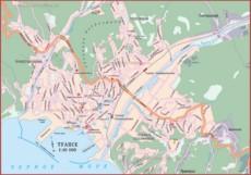 Карта дорог Туапсе