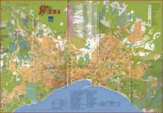 Карта Ялты с отелями и пансионатами
