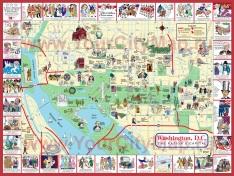 Туристическая карта Вашингтона