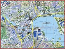 Туристическая карта Люцерна