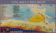 Туристическая карта Чолаклы