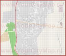 Подробная карта города Даламан