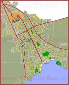 Подробная карта города Дидим