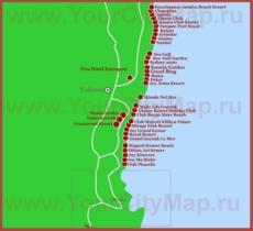 Карта отелей Гёйнюка