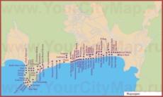 Карта отелей Мармариса