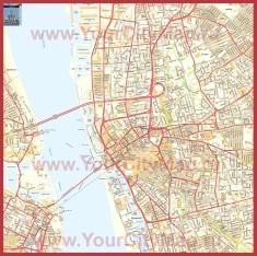 Подробная карта города Ливерпуль
