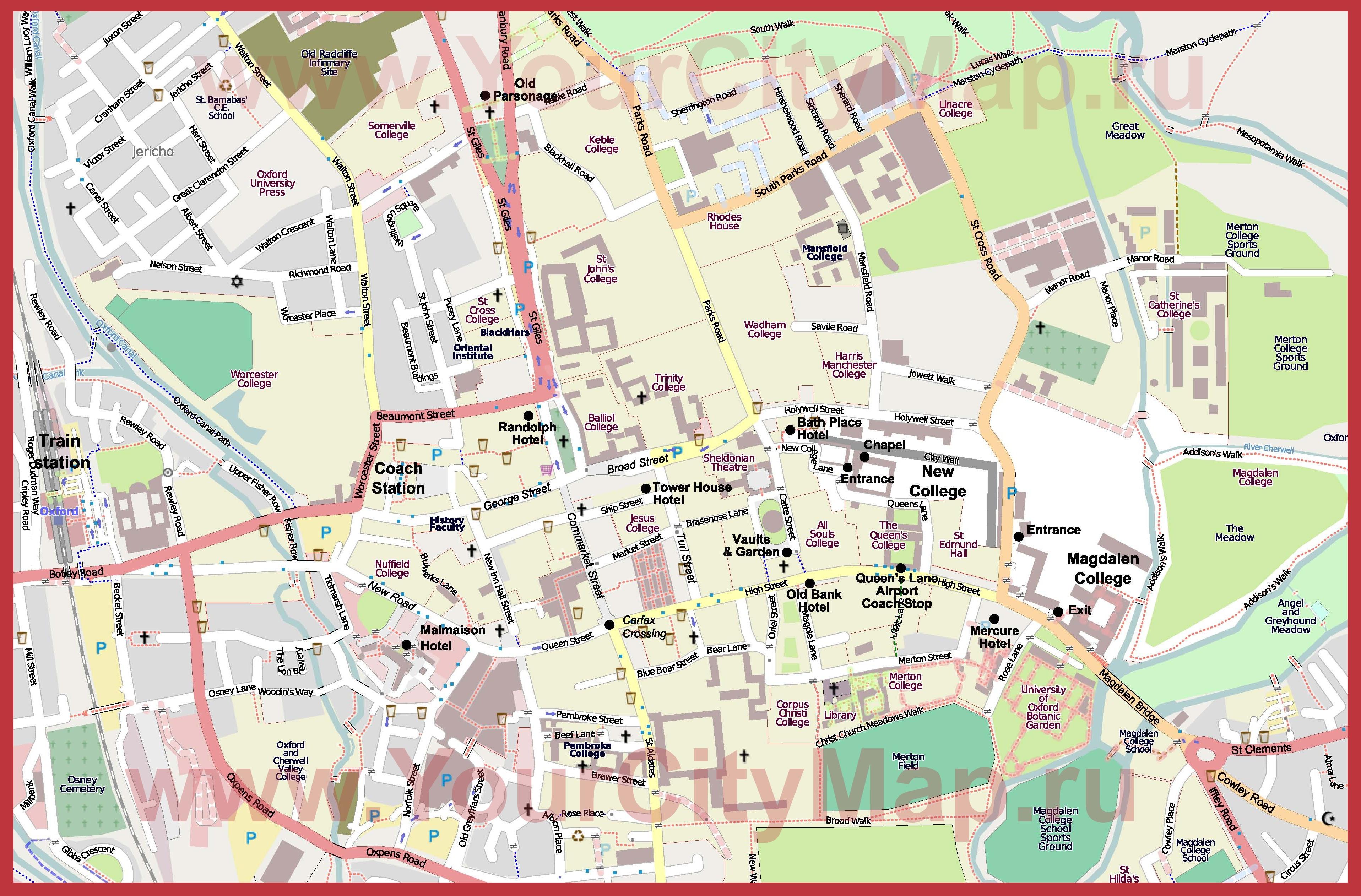Где находится колледж по карте